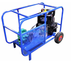 Бензиновая мотопомпа ТАНКЕР Д65 АИ для густых и вязких жидкостей