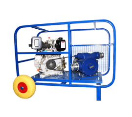 Дизельная мотопомпа ТАНКЕР-Л 400 ДТ для перекачки нефтепродуктов