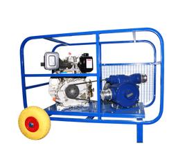 Дизельная мотопомпа ТАНКЕР-Л 580 ДТ для перекачки нефтепродуктов