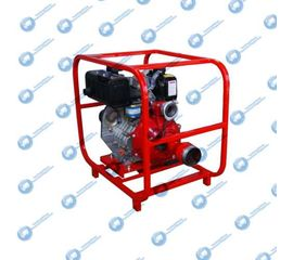 Бензиновая мотопомпа ТАНКЕР-20ПЖ АИ 5,1 кВт высоконапорная пожарная