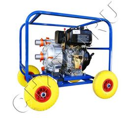 Дизельная мотопомпа ТАНКЕР-60СЗЖ.80 ДТ 7,8 кВт для сильнозагрязнённой воды
