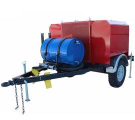 Мотопомпа пожарная МП-40/100 «Гейзер» на тракторном прицепе комплектация П