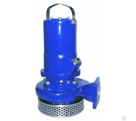 Погружной дренажно-песковый насос для грязной воды ГНОМ 50-25Т 380В