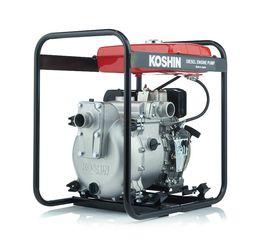 Дизельная мотопомпа для сильно-загрязненных вод Koshin KTY-50D