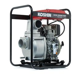 Дизельная мотопомпа для сильно-загрязненных вод Koshin STY-100D