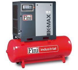 Винтовой компрессор на ресивере с прямым приводом FINI K-MAX 1513-500F