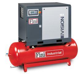 Винтовой компрессор на ресивере с осушителем, с частотником FINI VISION 1108-500F-ES VS