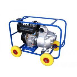 Бензиновая мотопомпа ТАНКЕР-60СЗЖ.80 АИ 8,7 кВт для сильнозагрязнённой воды