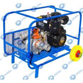 Дизельная мотопомпа ТАНКЕР-30В.50 ДТ 4,4 кВт для слабозагрязнённой воды