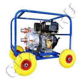 Дизельная мотопомпа ТАНКЕР-30СЗЖ.50 ДТ 4,4 кВт для сильнозагрязнённой воды