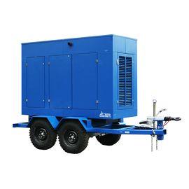 Дизельный генератор ТСС ЭД-600-Т400 в погодозащитном кожухе на прицепе