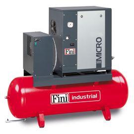 Винтовой компрессор на ресивере с осушителем FINI MICRO SE 4.0-08-200-ES
