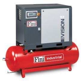 Винтовой компрессор на ресивере с осушителем FINI VISION 1110-500F-ES