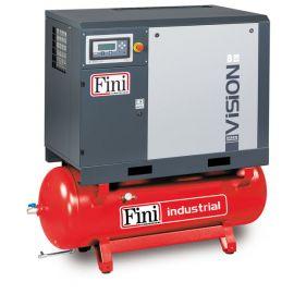 Винтовой компрессор на ресивере с осушителем FINI VISION 1110-270F-ES