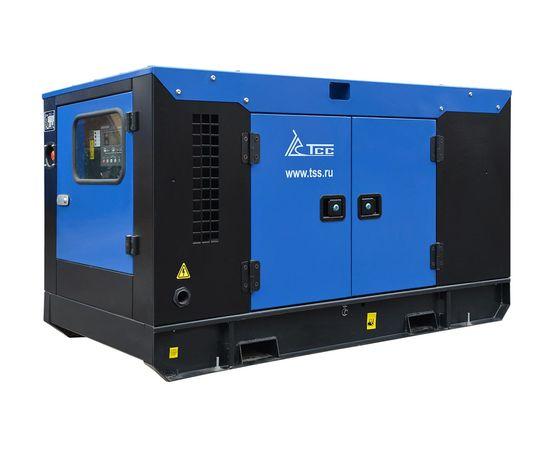 Дизельный генератор ТСС АД-24С-Т400 в шумозащитном кожухе с АВР