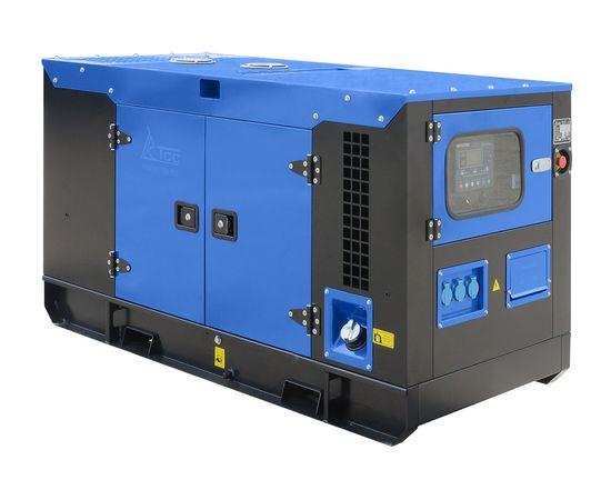 Дизельный генератор ТСС АД-12С-230 в шумозащитном кожухе с АВР