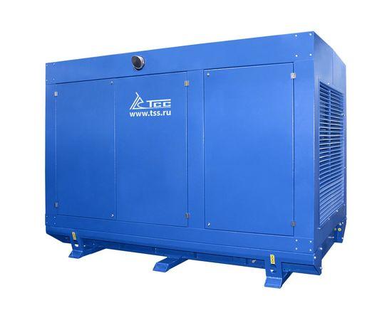 Дизельный генератор ТСС АД-300С-Т400 в погодозащитном кожухе с АВР