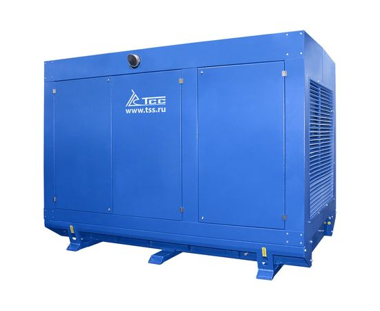 Дизельный генератор ТСС АД-120С-Т400 в погодозащитном кожухе с АВР