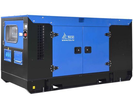 Дизельный генератор ТСС АД-100С-Т400-1РКМ26 в шумозащитном кожухе