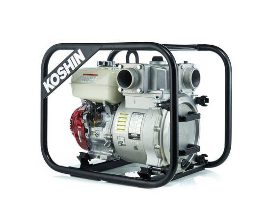 Бензиновая грязевая мотопомпа Koshin KTH-80S o/s