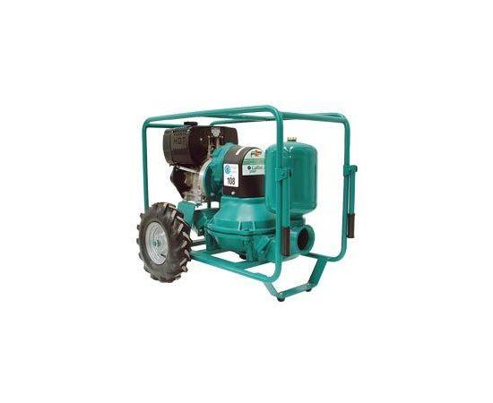 Дизельная диафрагменная мотопомпа для перекачки нефтепродуктов Caffini - Libellula LIB/1-4 P55/AL-NBR/Hatz1B30+T