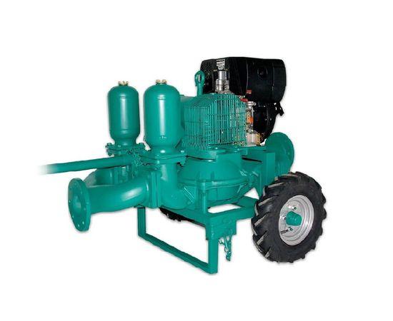 Бензиновая диафрагменная мотопомпа Caffini LIB/2-6_P58.5/AL-NBR/HondaGX390+T