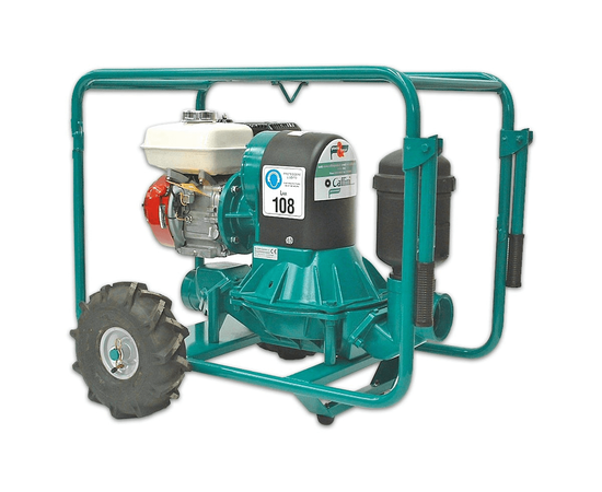 Бензиновая диафрагменная мотопомпа Caffini LIB/1-3_P43/AL-NBR/HondaGX160+T