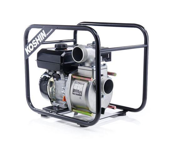 Бензиновая мотопомпа для средне-загрязненных вод Koshin STV-80X