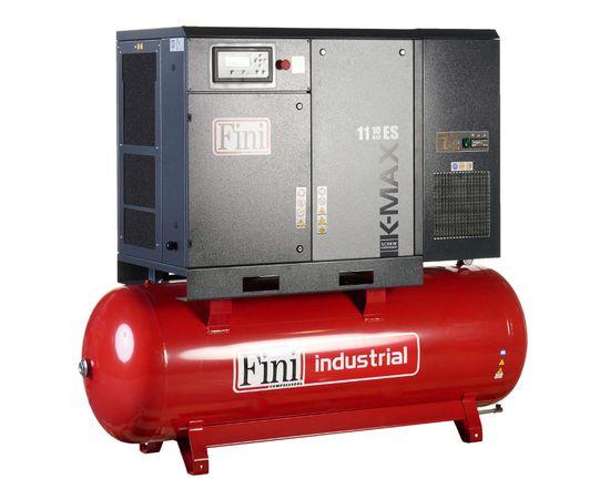 Винтовой компрессор на ресивере с осушителем FINI K-MAX 1113-500F-ES