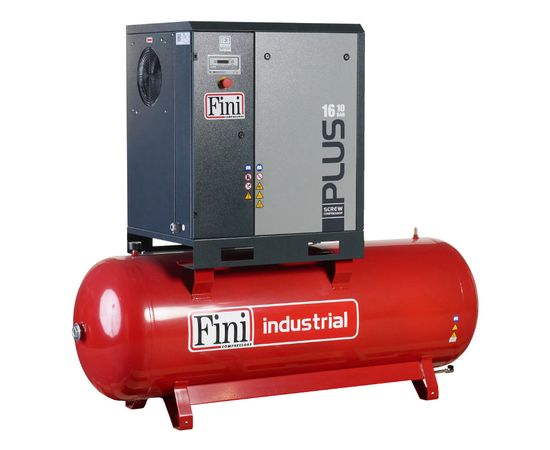Винтовой компрессор на ресивере FINI PLUS 15-13-500