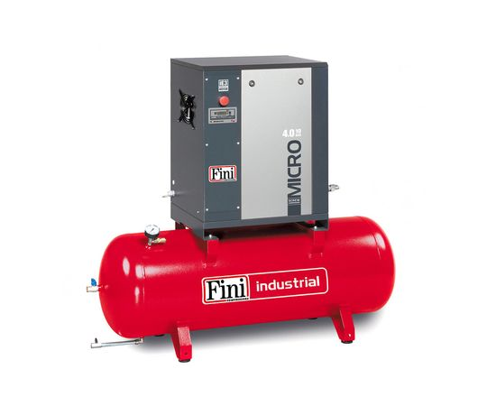 Винтовой компрессор на ресивере FINI MICRO 4.0-10-200