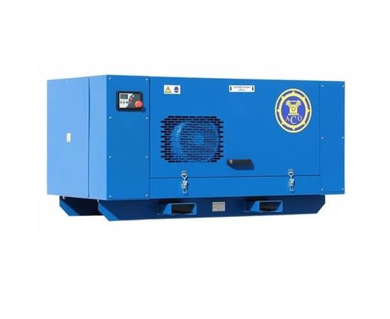 Винтовой компрессор с ременным приводом без ресивера АСО ВК 7,5-16