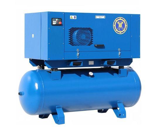 Винтовой компрессор на ресивере АСО ВК 18-10-500