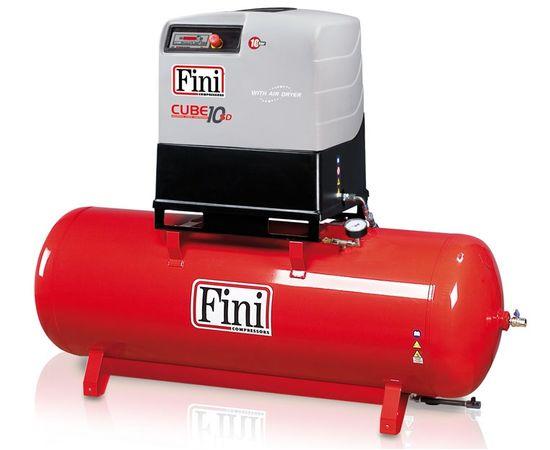 Винтовой компрессор на ресивере с осушителем FINI CUBE SD 1010-500F ES