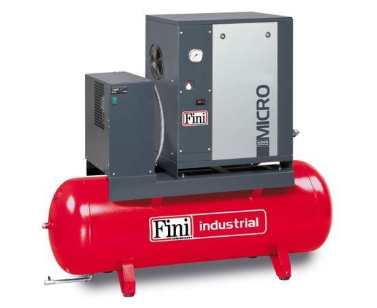Винтовой компрессор на ресивере с осушителем FINI MICRO SE 3.0-08-200 ES