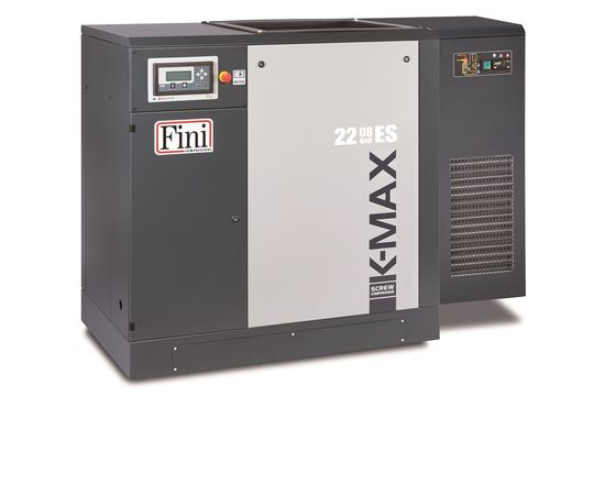 Винтовой компрессор без ресивера с осушителем, с частотником FINI K-MAX 38-10 ES VS