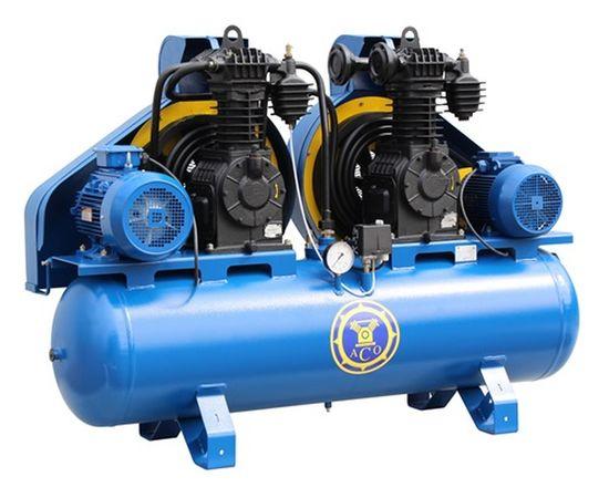 Поршневой компрессор с ременным приводом высокого давления К-33