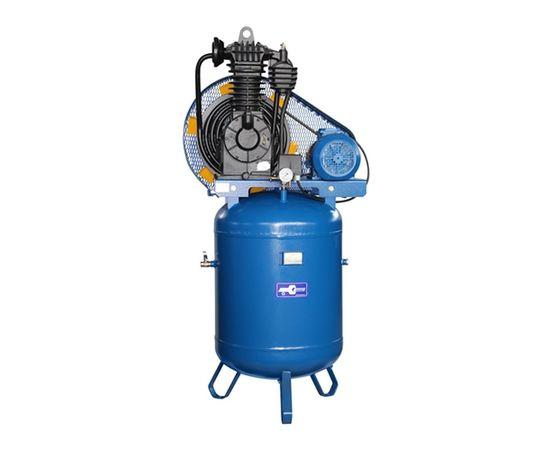 Поршневой компрессор с ременным приводом с вертикальным ресивером КВ-15-13