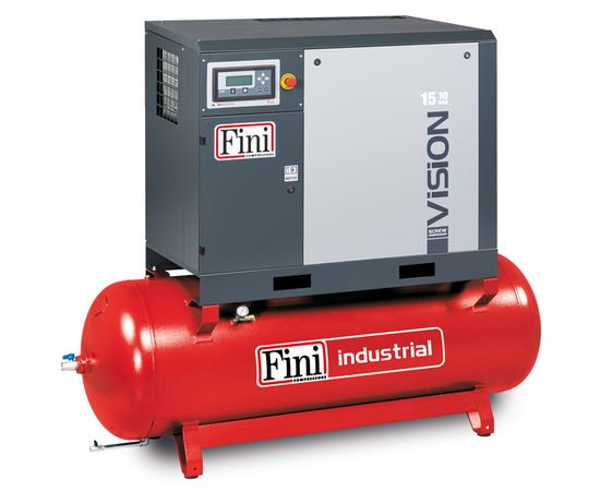 Винтовой компрессор на ресивере с осушителем, с частотником FINI VISION 1110-500F-ES VS